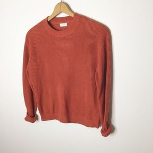 Gentle Fawn rust crew neck sweater
